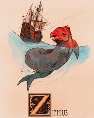 "Зиф. Иллюстрация Натана Андерсона (Nathan J. Anderson, ""Deimos-Remus"")"