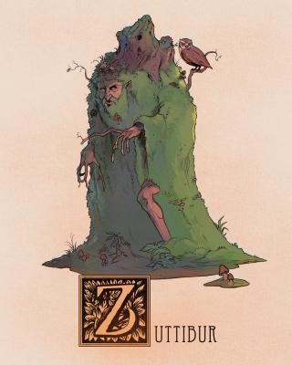 "Святибор (Zuttibur). Иллюстрация Натана Андерсона (Nathan J. Anderson, ""Deimos-Remus"")"