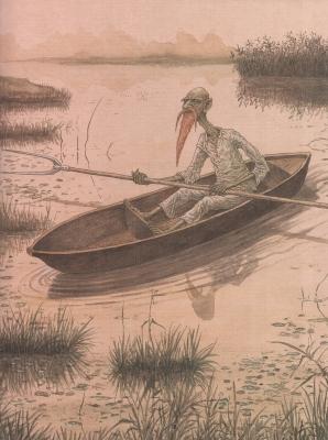 Жевжик. Рисунок Валерия Славука