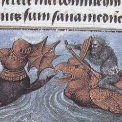 Морской бой с участием зириддара из часослова Уильяма Гастингса, первого барона Гастингса