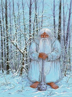 Зюзя. Иллюстрация Валерия Славука