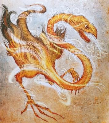 Знич. Иллюстрация Витольда Варгаса (Witold Vargas)