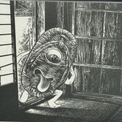 Бакэ-дзори. Иллюстрация Шигеру Мидзуки