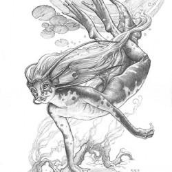 Никса. Рисунок Марка Зага