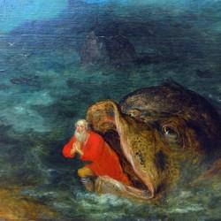 """""""Иона выходит из пасти кита"""". Картина Яна Брейгеля Старшего"""