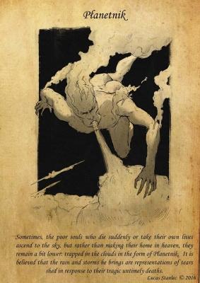 Планетник. Рисунок Лукаша Станеца