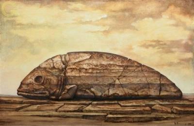 Вишап. Картина Армена Геворгянца