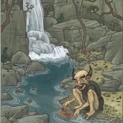 Адзуки-арай. Рисунок Мэтью Мэйера