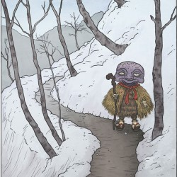 Абура-сумаси. Иллюстрация Мэтью Мэйера