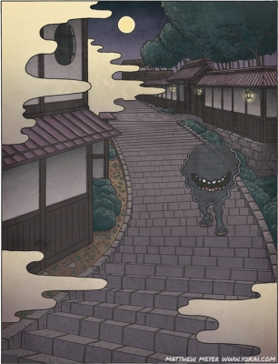 Бэтобэто-сан. Иллюстрация Мэтью Мэйера