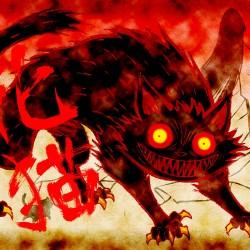 """Кайбё из аниме """"Аякаси: Классика японских ужасов"""". Арка """"Бакэнэко"""""""