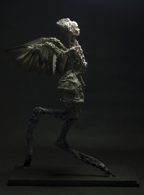 Гарпия. Скульптура Эвелины Лесик (Ewelina Lesik)