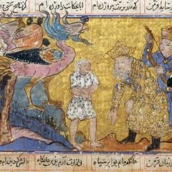 Симург. Средневековое изображение