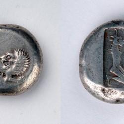 Очокочи на грузинской серебряной монете I века нашей эры