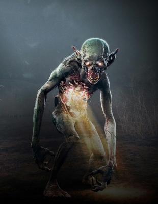 "Мгляк. Концепт-арт к игре ""Ведьмак III (Witcher III)"""