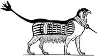 """Саг. Рисунок из книги А.Эрмана """"Жизнь в Древнем Египте"""""""