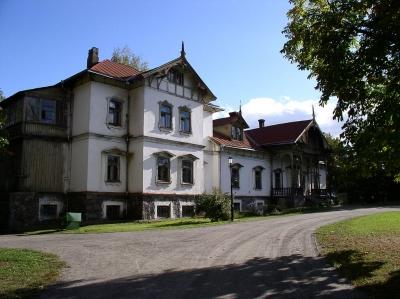 Усадьба Любанских в Лошице, место появления призрака пани Ядвиги