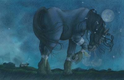 Келпи. Иллюстрация Кейт Лейпер