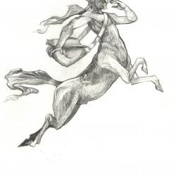"Кентавр. Рисунок Криса Гудвина (Chris ""Eselkunst"" Goodwin)"