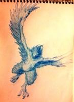 Рисунок курангаитуку от художника под ником Kainan
