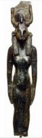 Бронзовая статуэтка богини Мехурт. IV-III века до н.э.
