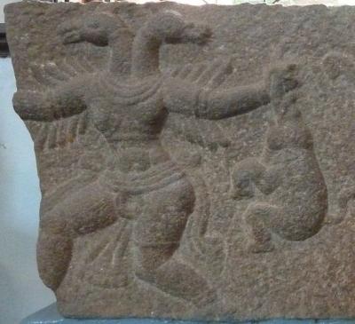 Птица Гандаберунда как составляющая герба Виджаянагарской империи