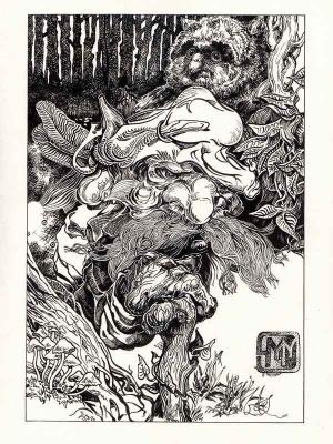 Добрахот. Иллюстрация Михаила Чернодедова