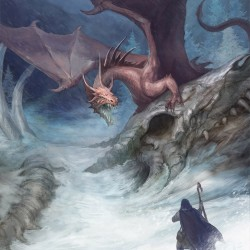Драконий перевал. Иллюстрация Юлии Алексеевой