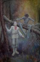 Таргылтыш. Рисунок Антона Соколова