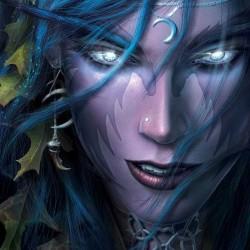 Ночной эльф из игры Warcraft III (концепт-арт)