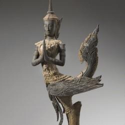 Статуэтка киннара из Тайланда. XVIII век