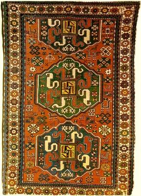 Вишапагорг. Национальный армянский ковер с мотивами дракона-вишапа