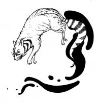 """Баджанг. Иллюстрация Мод Кадира (Mohd Kadir) для """"Малазийской книги нежити"""""""