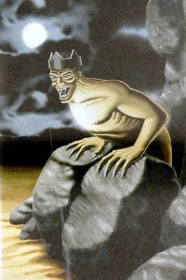 """Кавтчо (El Kawtcho). Иллюстрация из книги """"Guía Mitológica Ilustrada de Chile"""" (2007)"""