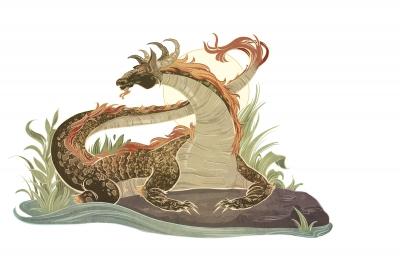 Нинки-нанка. Иллюстрация Александрии Хантингтон
