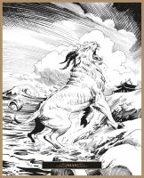 Нянь. Иллюстрация Клаудио Санчеса Вивероса
