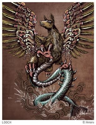 Амару. Иллюстрация Хосе Луиса (José Luis)