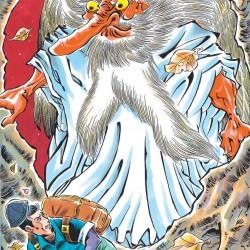 Ханадака-тэнгу. Иллюстрация Тацуи Морино