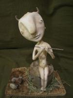 Баган. Коллекционная кукла Елены Брызгаловой