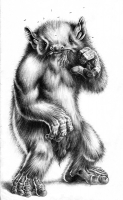 Башахаун. Иллюстрация Хуана Рамона Фелипе Матеоса