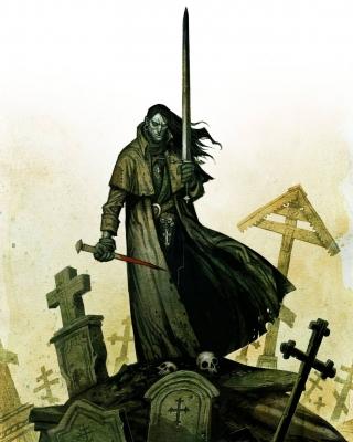 Дхампир или вампирович. Иллюстрация Юхана Эгеркранса
