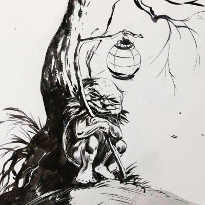 Абура-сумаси. Иллюстрация Танмая Мандала