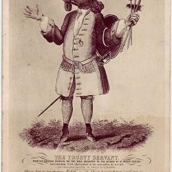 """""""Верный слуга"""". Изображение Иркоцервуса на гравюре XIX века"""