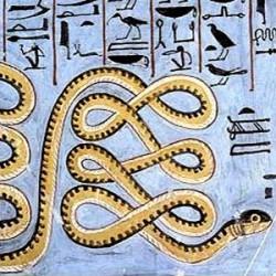 Змей Апоп и бог Ра