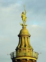 Океанида Амфитрида, жена Посейдона. Статуя на водонапорной башней Мангейма (Баден-Вюртемберг, Германия)