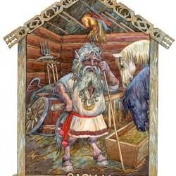 Вазила. Иллюстрация Виктора Королькова