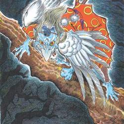 Карасу-тэнгу. Иллюстрация Тацуи Морино