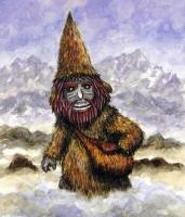 Нуберо. Иллюстрация J.A.Moro с почтовой открытки