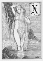 Ксана. Иллюстрация Юлии Широниной (CoalRye)