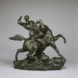 Лапиф, сражающийся с кентавром. Скульптура Антуана-Луи Бари